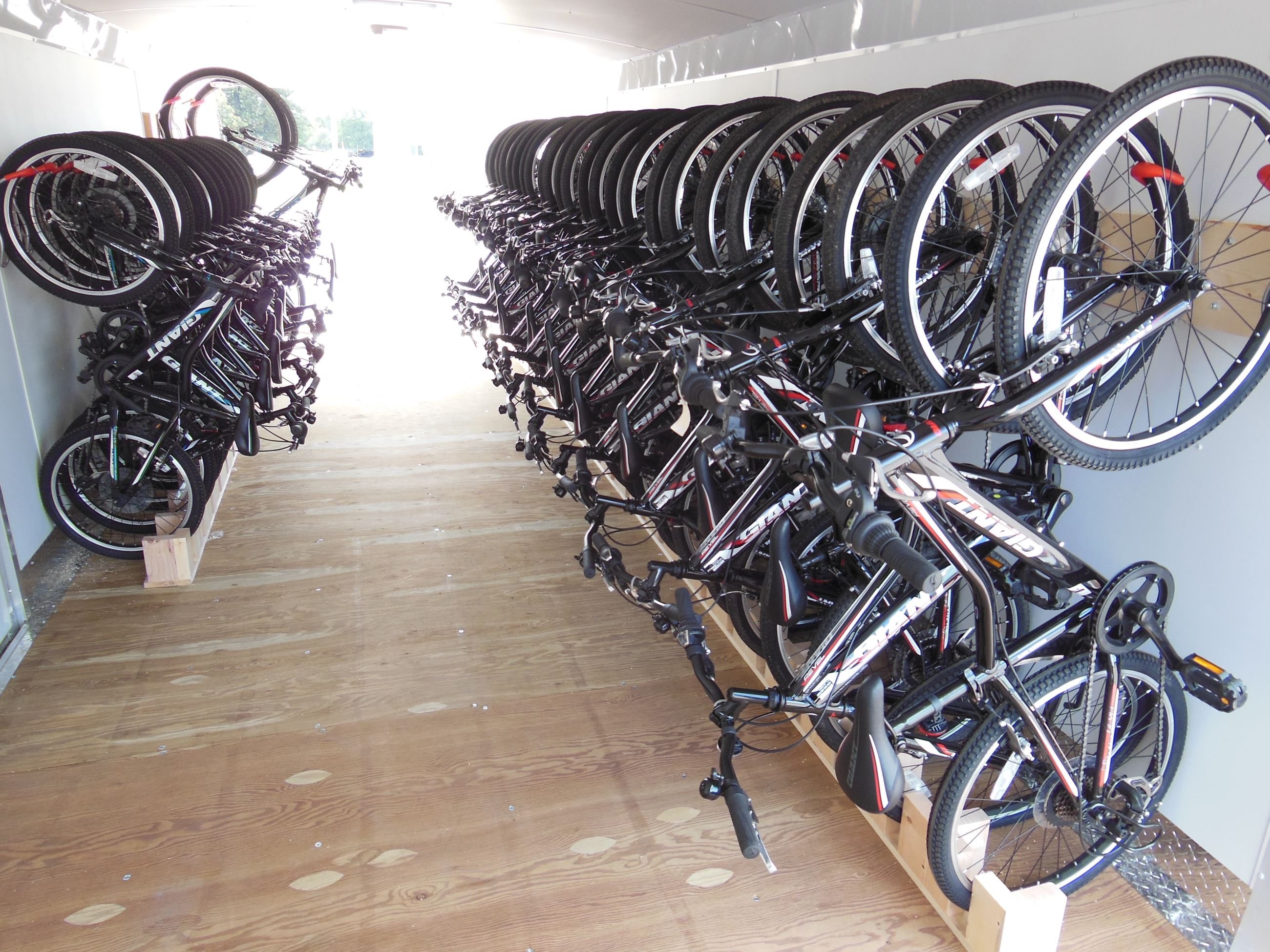 Bike Fleet (Inside Trailer)