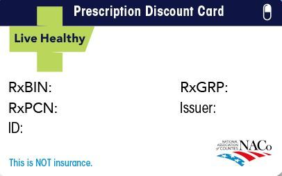Drug Prescription Card